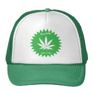 Green Bottle trucker hat