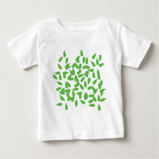 green bottles icon baby T-Shirt