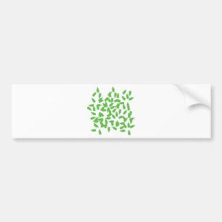 green bottles icon bumper sticker