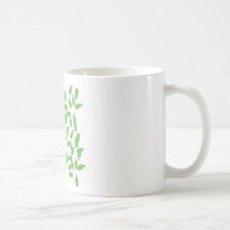 green bottles icon coffee mug