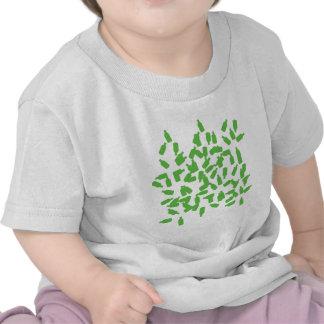 green bottles icon t-shirts
