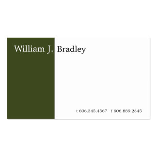 Green Box Double-Sided Standard Business Cards (Pack Of 100)