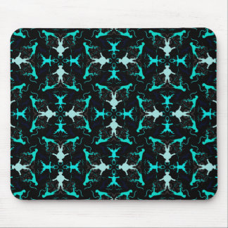 Green Boxerdogs Mouse Pad