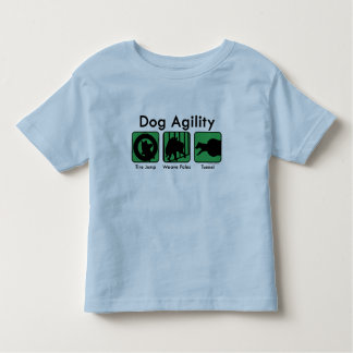 Green Boxes Dog Agility Toddler's T-Shirt