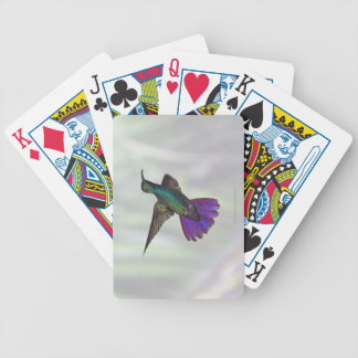 Green-breasted Mango Hummingbird Anthracocorax Bicycle Playing Cards