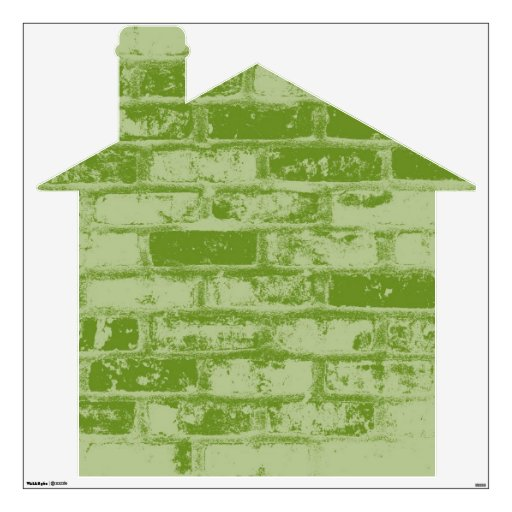 Green Brick House Room Graphic