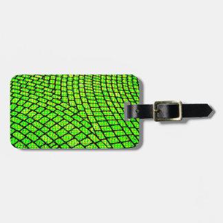 Green Brick Road Luggage Tag