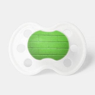 Green Brick Wall BooginHead Pacifier