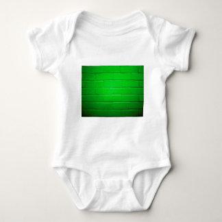 Green Brick Wall Tshirts