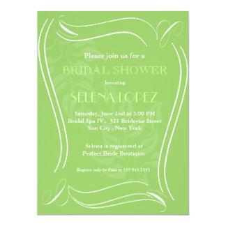 Green Bridal Shower invitations