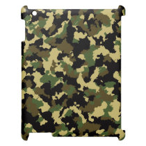 Green/Brown Camo iPad Covers