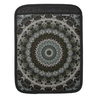 Green & Brown Mandala iPad Sleeve
