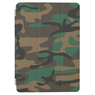 Green Brown Military Camo Camouflage iPad Air Cover