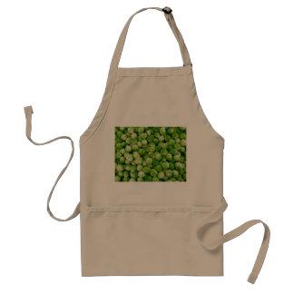 green bryssel-kål adult apron