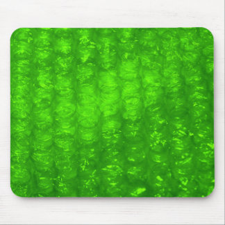 Green Bubble Wrap Effect Mouse Pad