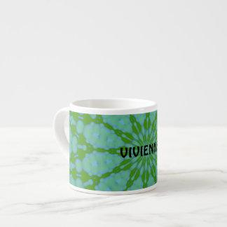 Green Bubble Zen Espresso Mug