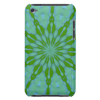 Green Bubble Zen iPod Touch Barely There Case