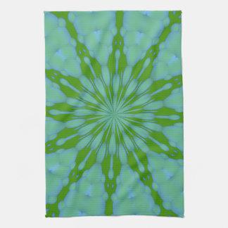 Green Bubble Zen Kitchen Towels