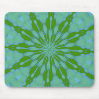 Green Bubble Zen Mousepad