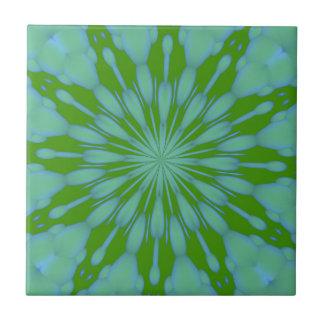 Green Bubble Zen Tile