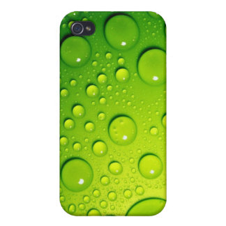 Green Bubbles iPhone 4/4S Covers