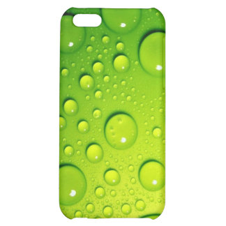Green Bubbles iPhone 5C Cover