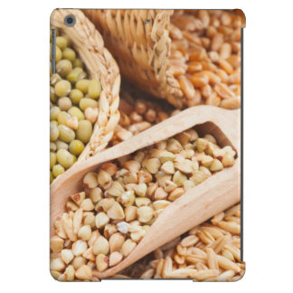 Green Buckwheat, Wheat, Oat And Mung - Cereal iPad Air Cover