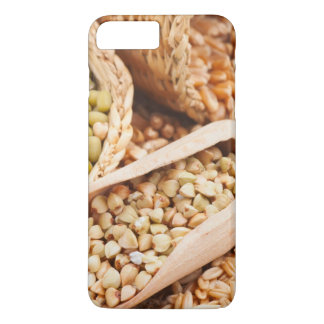Green Buckwheat, Wheat, Oat And Mung - Cereal iPhone 7 Plus Case