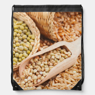 Green Buckwheat, Wheat, Oat And Mung - Cereal Cinch Bags