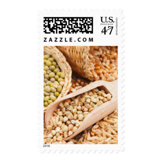 Green Buckwheat, Wheat, Oat And Mung - Cereal Postage