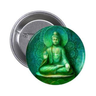 Green Buddha Pin
