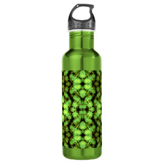 Green Buddha Kaleidoscope Water Bottle