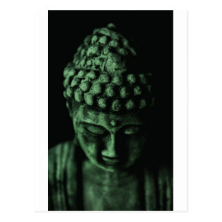 Green Buddha Postcard