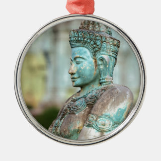 Green Buddha statue Cambodia Christmas Ornaments