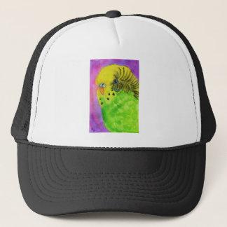Green Budgie Trucker Hat