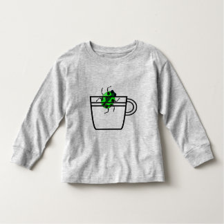 green bug in a cup tee shirt