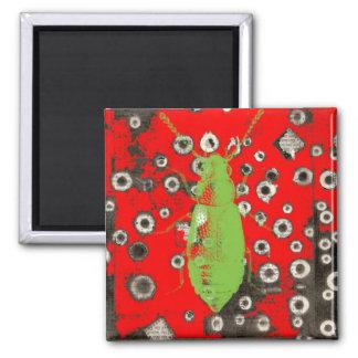 Green Bug Magnet