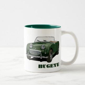 Green Bugeye Coffee Mugs