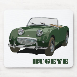 Green Bugeye Mouse Pad