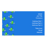 Green Bugs Pattern Double-Sided Standard Business Cards (Pack Of 100)