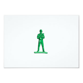Green Builder Holding Hammer Retro Card