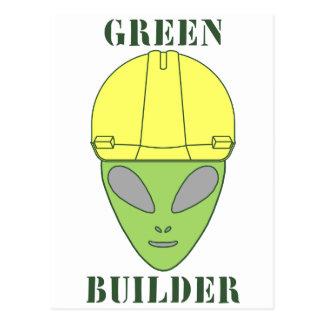 Green Builder Postcard