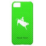 Green Bull Rider iPhone 5C Case