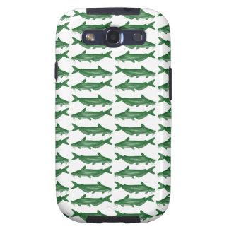 Green Bullhead Catfish Galaxy SIII Covers