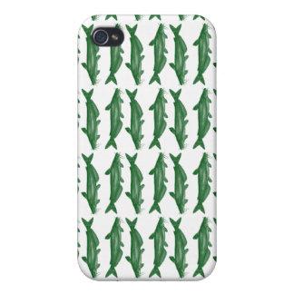 Green Bullhead Catfish iPhone 4 Cases