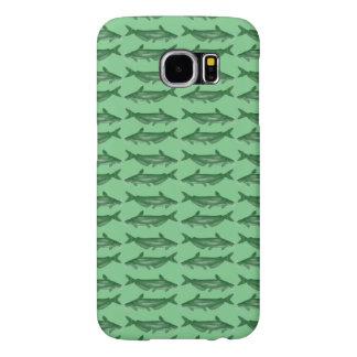 Green Bullhead Catfish Samsung Galaxy S6 Case