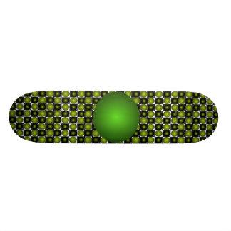 Green Bump Skateboard CricketDiane Design