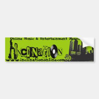 Green Bumper Art Car Bumper Sticker
