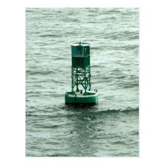 Green Buoy Postcard
