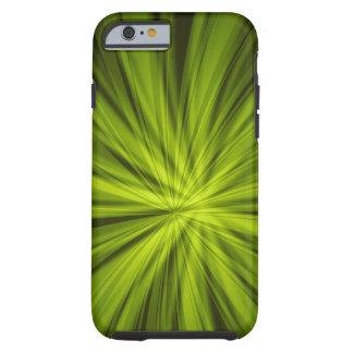 Green BURST iPhone 6 Tough Case